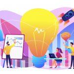 Business team brainstorm,